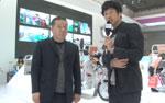 南京电动车展会比德文专访