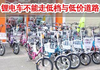 张瑞华:锂电自行车不能走低档与低价的道路