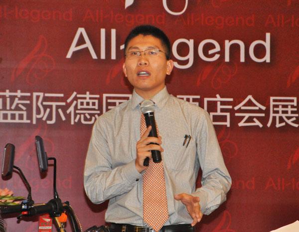 极高至远,大业精诚 采访天津大安电动车有限公司常务副总经理董龙振