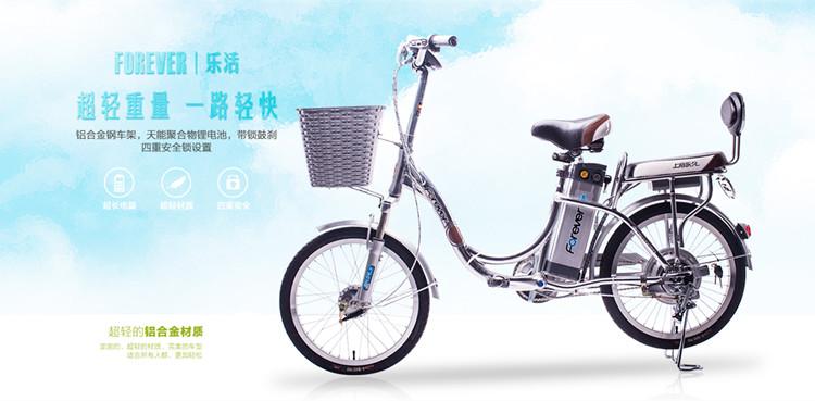 永久锂电池自行车