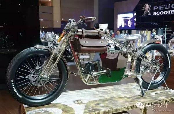 ITALJET意大利车厂推出复古电动自行车