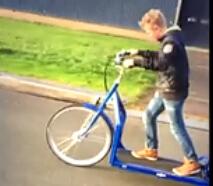 碉堡了!你绝对没见过这款电动自行车!