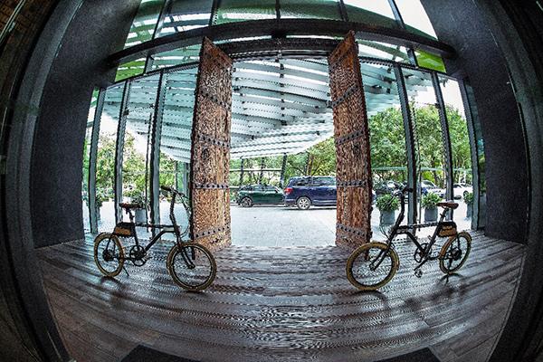骑车看北京,那些五星级酒店里的出行美学