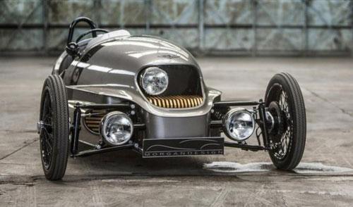 2016日内瓦车展 摩根三轮电动车发布