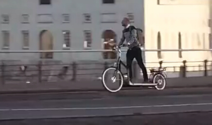这样的黑科技单车,你见过吗?