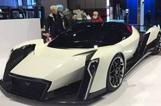Vanda Electrics超级电动汽车亮相日内瓦展