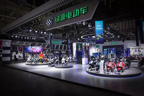 绿源到场2018南京展,行业20年成果大检阅!