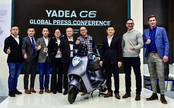 纵享速度与激情,雅迪携新品G6海外版惊艳米兰国际展!