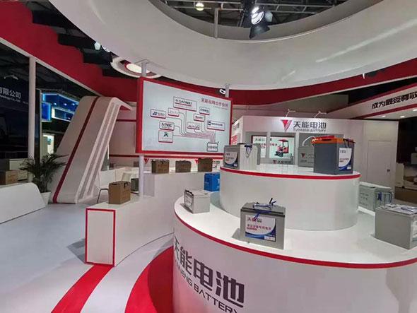 上海国际清洁技术与设备博览会,天能成人气担当!