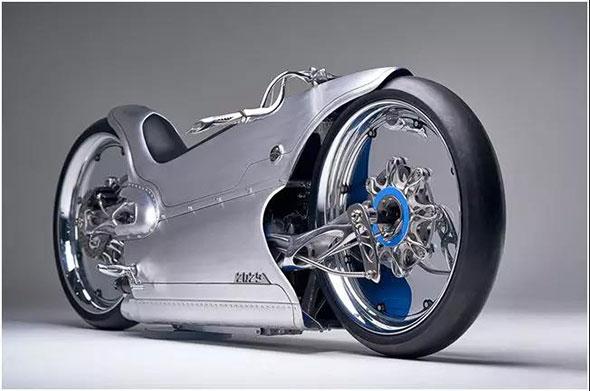 奢靡藝術品 ——全手工電動摩托:Fuller Moto Majestic 2029