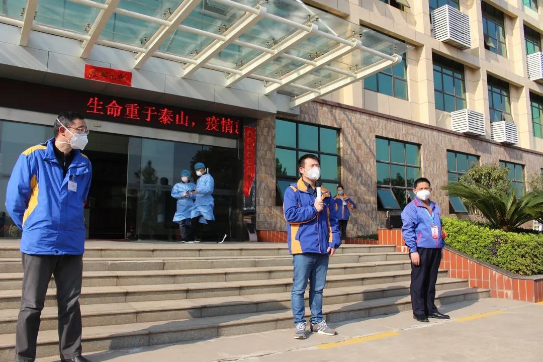 江西电视台新闻频道实时播出京九集团员工复工返厂盛况!