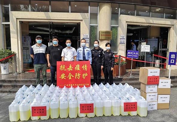 广西电动车行业协会助力南宁市车管所疫情防控