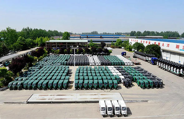7年550000辆,看江苏宗申专用车如何做到行业第一!