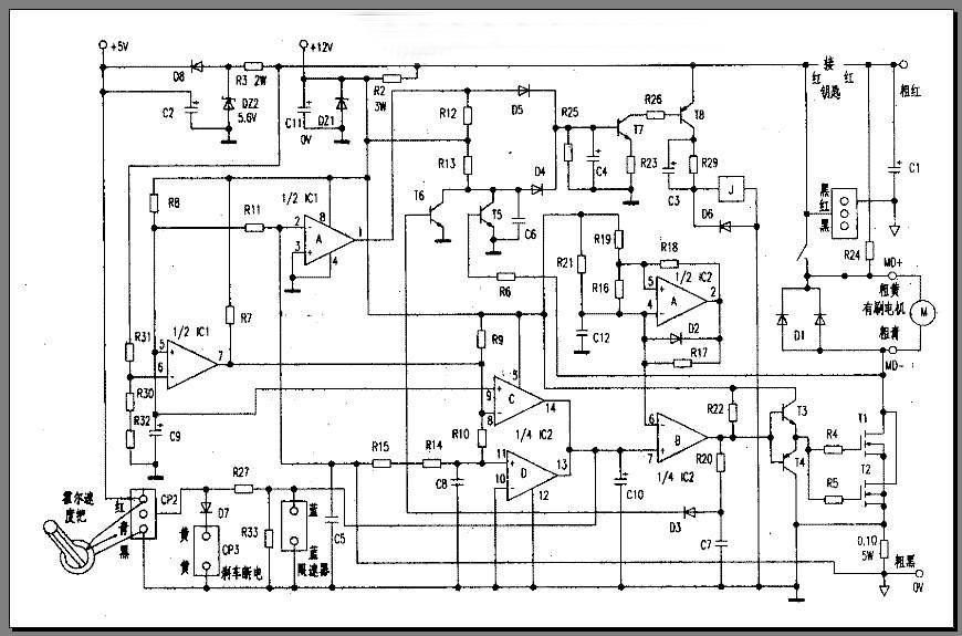 一些控制器的电路图[转帖]-->电动车论坛