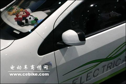 吉利熊猫3门纯电动车广州车展即将亮相