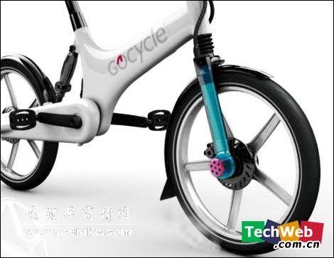 更轻便更可爱的可折叠电动自行车