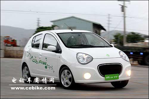 试驾台湾版吉利熊猫luxgenev+电动车