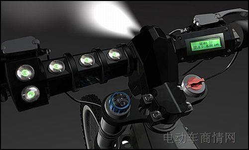法拉利电动自行车限量登场高清图片