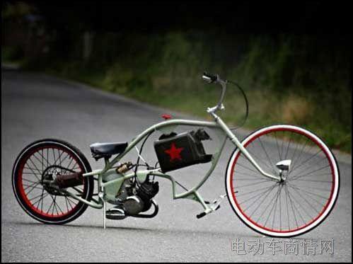 国外超酷改装自行车欣赏-电动车商情网新闻中心