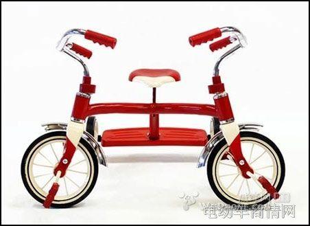 个性设计的儿童自行车