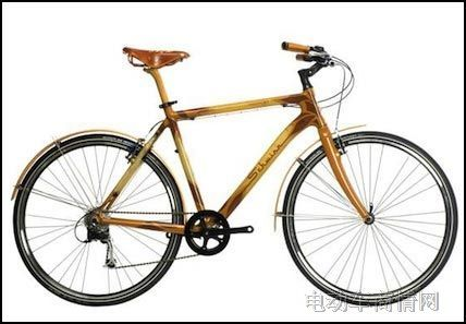 亚麻纤维支架自行车