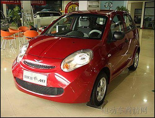 2,瑞麒m1电动车 零油耗 零污染 8款纯电动车将国产 进口 高清图片