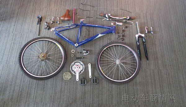 (1)自行车组装:拆解时间不大于12分钟
