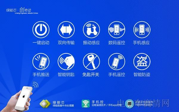 """绿能""""手机控""""远程遥感智能电动车横空出世"""