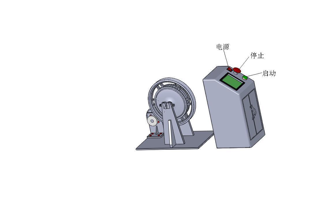 产 品 说 明 目录 1. 概述 2. 规格与型号 3. 操作注意事项 4. 人机界面图示 5. 保养 概述: 本测试机主要对控制器和电机进行性能模拟测试,包括模拟测试、老化测试和径向冲击测试。在不同状况的路面,控制器和电机会受到不同的冲击,会在瞬间改变电机和控制器的负载。经过对控制器和电机的电压和电流等数据的多次采样,再经合理的计算,转换成本测试机中电机运行的阻力,进而模拟实际路况的运行情况,以达到对控制器和电机的严格测试。 设备采用双动力结构,无级变速,电机冲击频率可任意调节。 电机无需安装内外胎就可