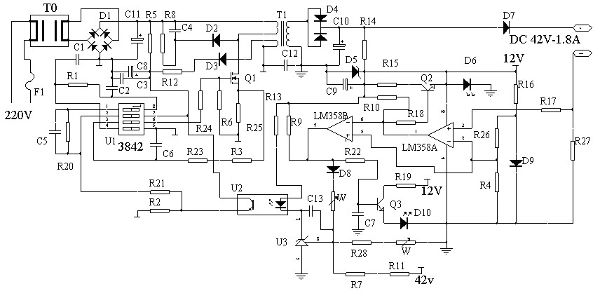 电动车充电器参数的调节(图可以点击放大)-->电动车